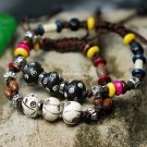 Buy Wholesale Tibetan Jewelery Bone beads Alloy Lovers Bracelets Gift Fashion Personality Charm Sha