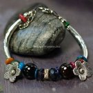Buy Wholesale Tibetan Jewelery Tibetan silver Alloy Spar Rhinestone Agate Shell Bracelets Women Gif
