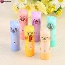 Random color 2pcs Cute Animal Cartoon Moisturize Makeup Cosmetic Lipstick Lip Balm Women Kid Hot fr