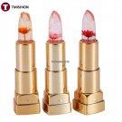 1Pc Professional Flowers Color Changing Lipstick Moisturizing Fruit Lip Balm 3colors