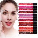 Popfeel Waterproof Tint Matte Liquid Lipstick Lip Gloss Long Lasting Lip Balm Pen 12 Colors Batom M