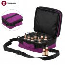 42 Bottles Collision proof Foam Makeup Bag Essential Oil Case Storage Carrying Portable Travel Nail