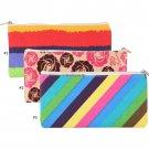 Cute Makeup Pouch Bag Zipper Canvas Women Maquiagem Cosmetic Storage Case Portable Toiletry Neceser