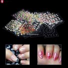 30 Sheets Mixed Design Nail Art Manicure Tips Polish Stickers Decals Decoration Nail Art Tool Nail