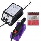 Pro 2000RPM Electric Nail Drill Manicure File Machine Nail Drill Pen Bits Gel Polish Sanding File P