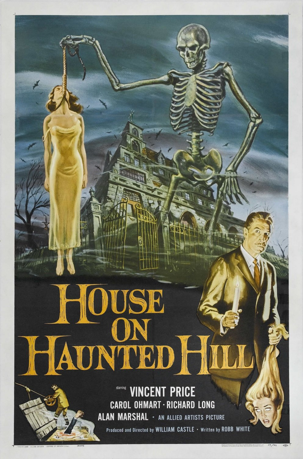 House on Haunted Hill (1959) DVD