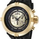 Invicta Men's Force Chronograph Gold Dial Black Polyurethane