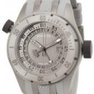 Invicta Men's Force GMT Grey Dial Grey Polurethane & Titanium.