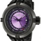 Invicta Men's Force GMT Purple Dial Black Polyurethane