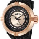 Invicta Men's Force GMT Rose Dial Black Polyurethane