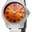 Invicta Men's II Orange Dial Stainless Steel