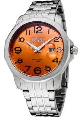 Invicta Men's II Orange Dial Stainless Steel