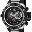 Invicta Men's Midsize Subaqua Noma IV Chronograph Black Polyurethane/Stainless Steel