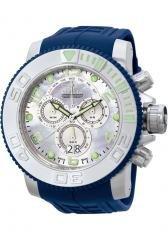 Invicta Men's Pro Diver Chronograph Blue Polyurethane