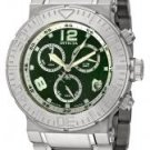 Invicta Men's Reserve Chronograph Green Sandstone Dial Stainless Steel
