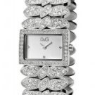 Dolce & Gabbana Women's 800 White Crystal Stainless Steel
