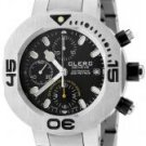 lerc Men's CXX Scuba 250 Automatic Chronograph Stainless Steel