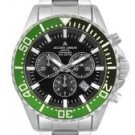 JACQUES LEMANS Men's Geneva Collection Chronograph