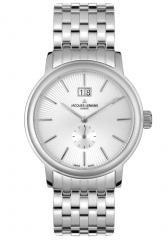 JACQUES LEMANS Men's Geneva Stainless Steel.