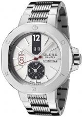 Clerc Men's Icon 8 Automatic Dual Time Stainless Steel