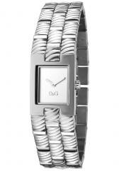 Dolce & Gabbana Women's Saddle Silver Dial Stainless Steel
