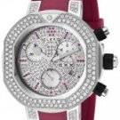 Clerc Women's CXX Scuba White & Pink Diamond Magenta Rubber