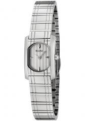 Bulova Women's White Dial Stainless Steel