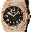 Rotary Men's Editions Automatic Black Rubber
