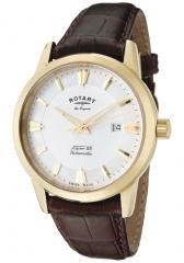 Rotary Men's Les Originales White Dial Brown Leather
