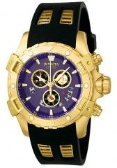 Invicta Men's Specialty Chronograph Black Rubber