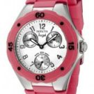 Invicta Women's Angel White Dial Pink Silicon