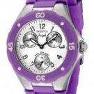 Invicta Women's Angel White Dial Purple Silicone