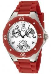 Invicta Women's Angel White Dial Red Silicon