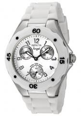 Invicta Women's Angel White Dial White Silicone