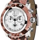 Glam Rock Women's Miami Chronograph Pink Python