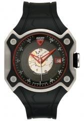 Ducati Men's Automatic Black Rubber.