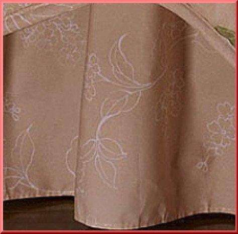 New Peach QUEeN Bed Skirt