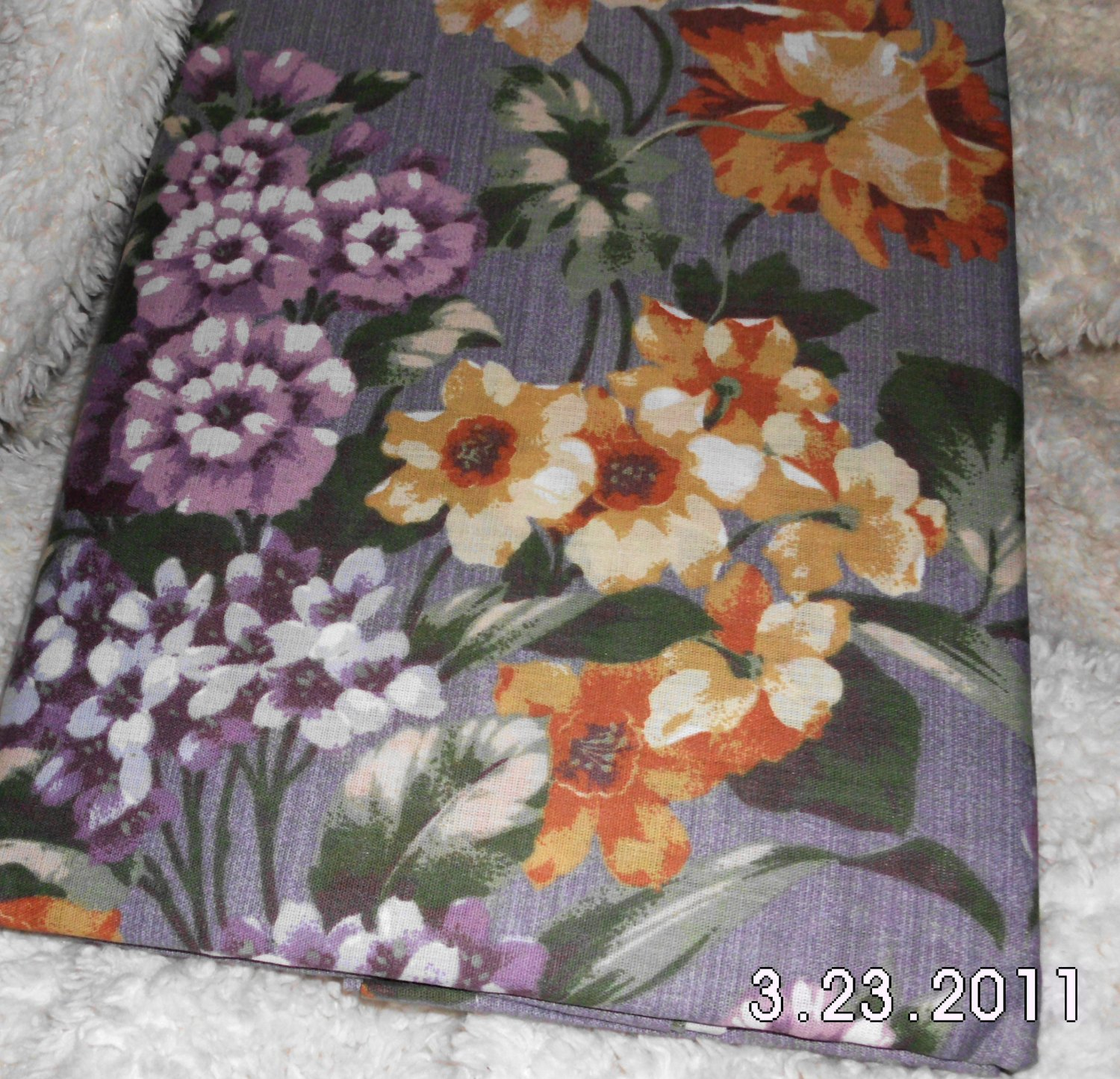 New Rod Pocket Curtains FLORAL 84 x 84""