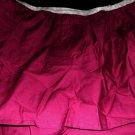 New QUEEN Scenario Bedskirt WINE