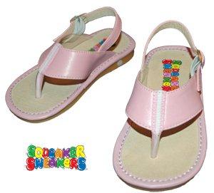 SQUEAKER SNEAKERS Pink Sporty Flip Flop
