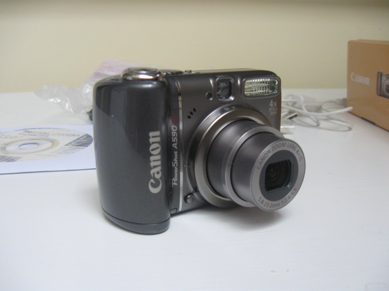 Canon Powershot A590 IS Digital Camera