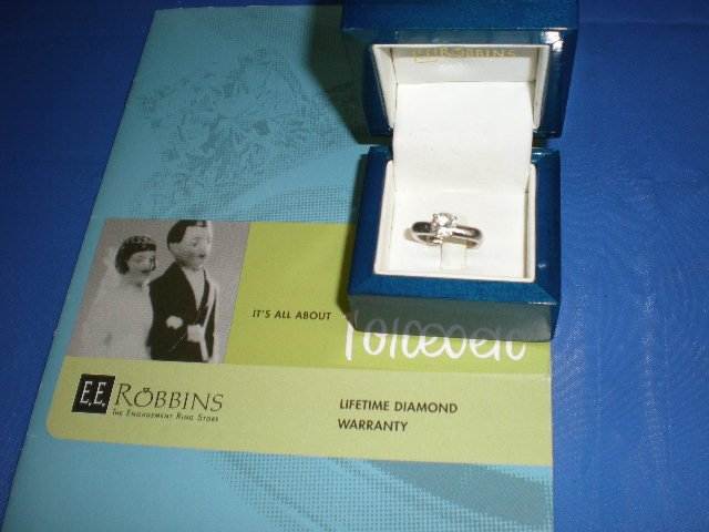 E. E. Robins Wedding Ring