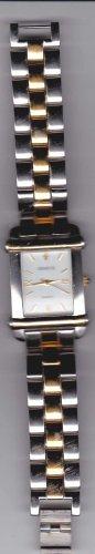 Men's Geneve Wrist Watch Diamond Gold Mans Quartz