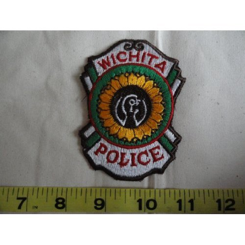 Wichita KS Police Shoulder Patch Uniform