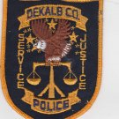 Dekalb County GA Police Patch Shoulder Uniform