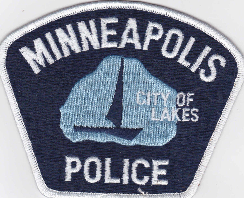 Minneapolis MN Police Shoulder Patch Uniform