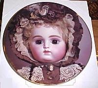 Mildred Seeley French Doll Plate Delcroix's Pearl New