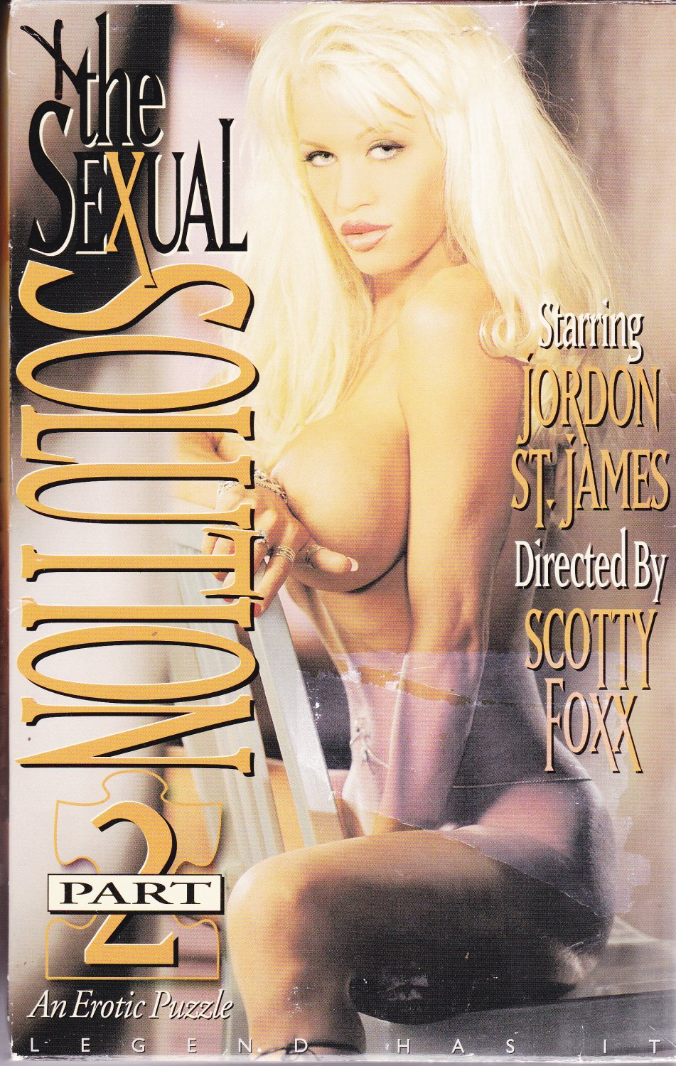 The Sexual Solution Part 2 VHS Adult Movie