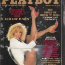 Playboy January 1985 Mens Magazine Vintage Goldie Hawn