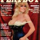Playboy Feb 1984 Issue Kimberly McArthur Magazine